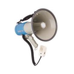 Megafon 25 W med sirene