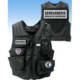 P.E. Taktisk Vest Gendarmerie Rechercer