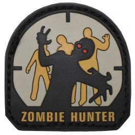 """Velcromærke, """"Zombie Hunter"""""""