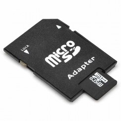 Micro SD-kort (TF) inkl SD-Adapter