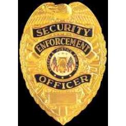 """Badge """"Security Enforcement Officer"""""""