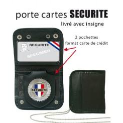 ID-holder (dobbelt incl. badge)