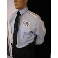 Skjorte, blå uniform (politi)